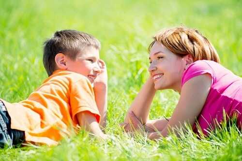 Establish friendly and open relationship with your child