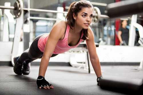 Push Ups - Holiday Workout