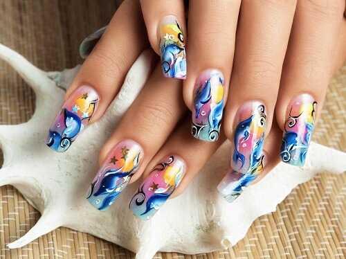 16 Nail Art Ideas Lazy Girls Will Love