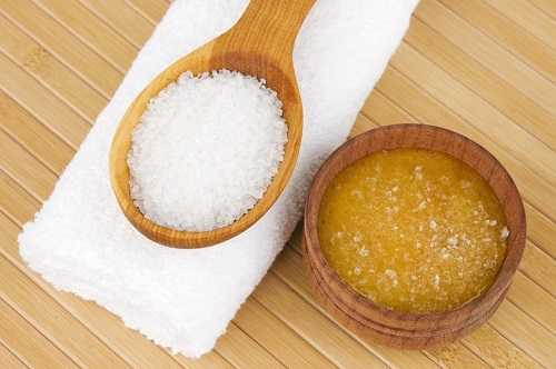 Sea Salt and Honey Lip Scrub