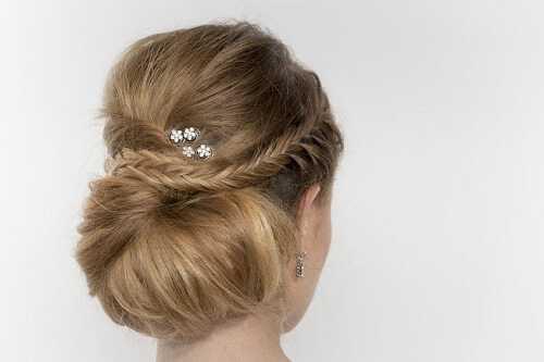 2 Chignon Bun 11 Terrific Bun Hairstyle Ideas
