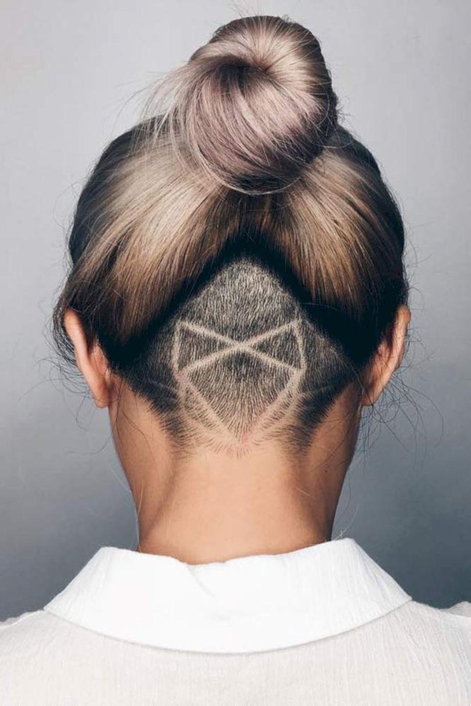 The New Hair Trend: Secret Undercut Hair Tattoos