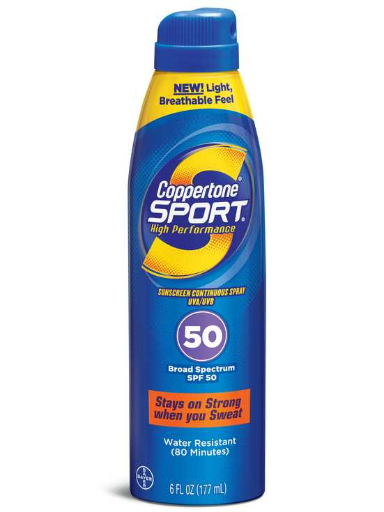 Coppertone Sport Continuous Spray Sunscreen SPF 50