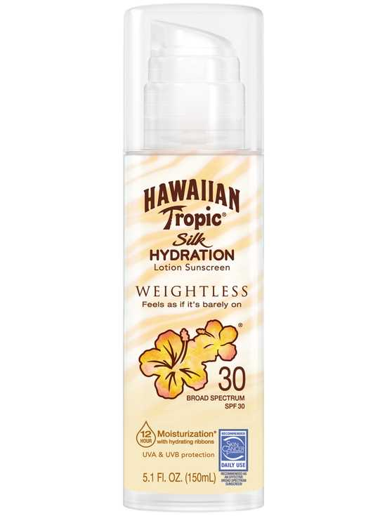 Hawaiian Tropic Silk Hydration Weightless Sunscreen Lotion