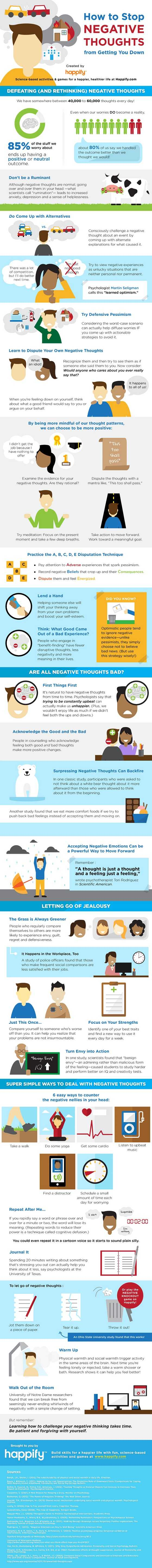 Keep Negativity from Getting You Down with This Infographic