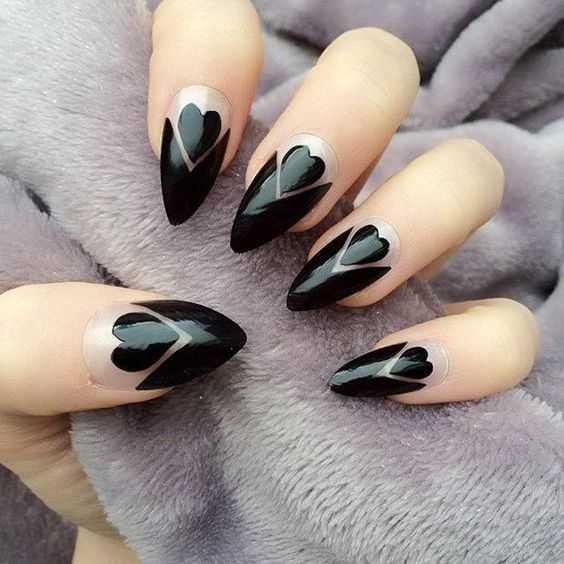 Dark Desires nails