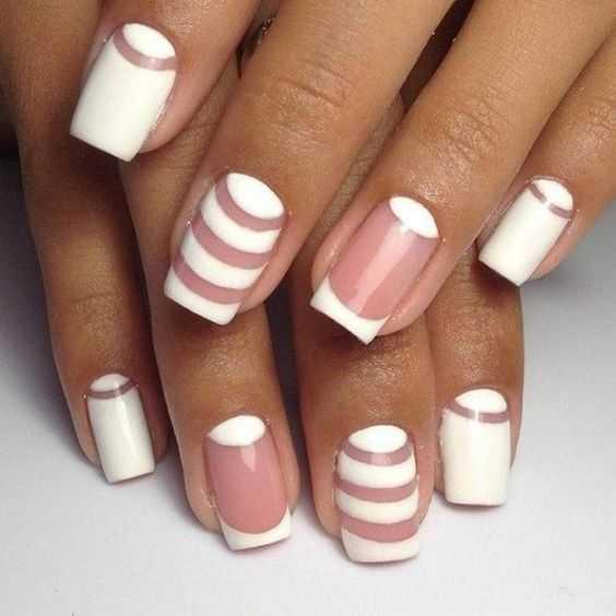 Natural Nudes nails