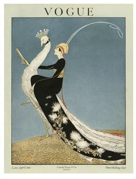 British Vogue Cover April 1918