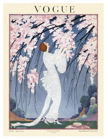 British Vogue Cover April 1919