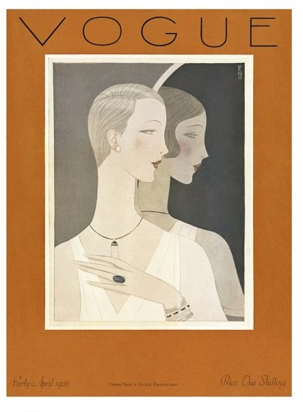 British Vogue Cover April 1926