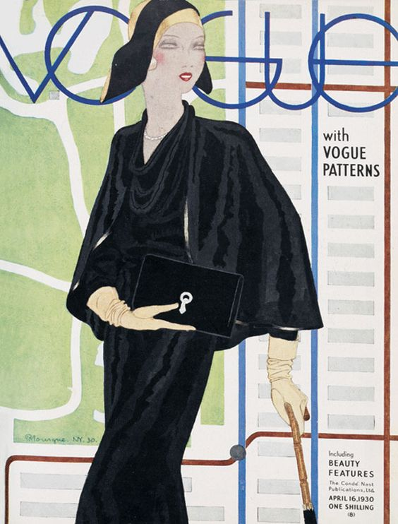 British Vogue Cover April 1930