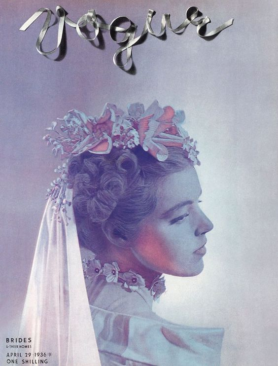 British Vogue Cover April 1936