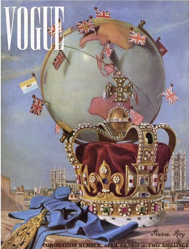 British Vogue Cover April 1938
