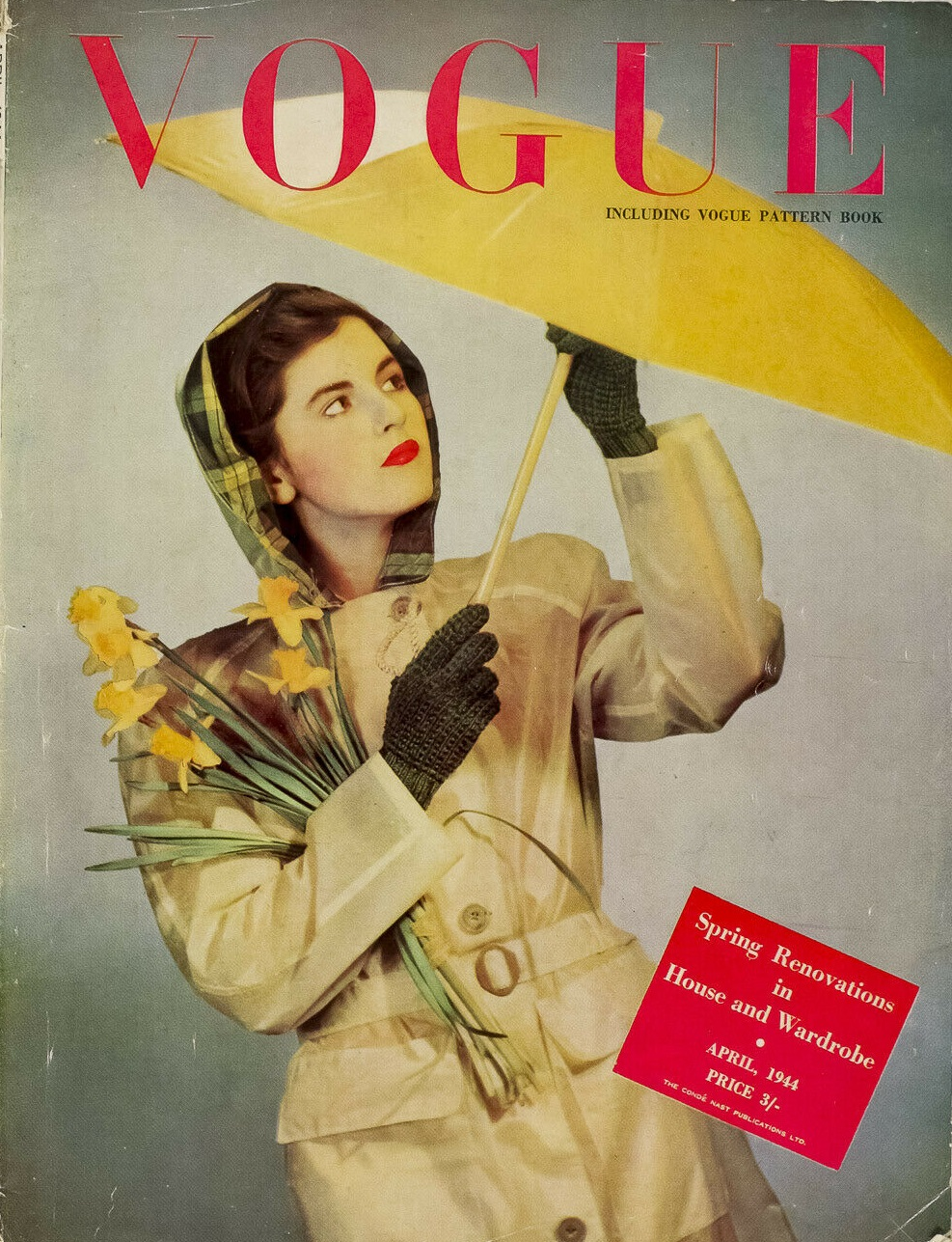 British Vogue Cover April 1944
