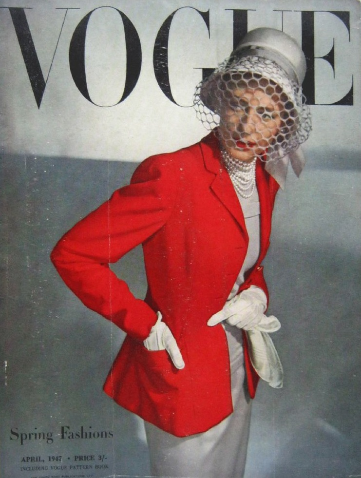 British Vogue Cover April 1947