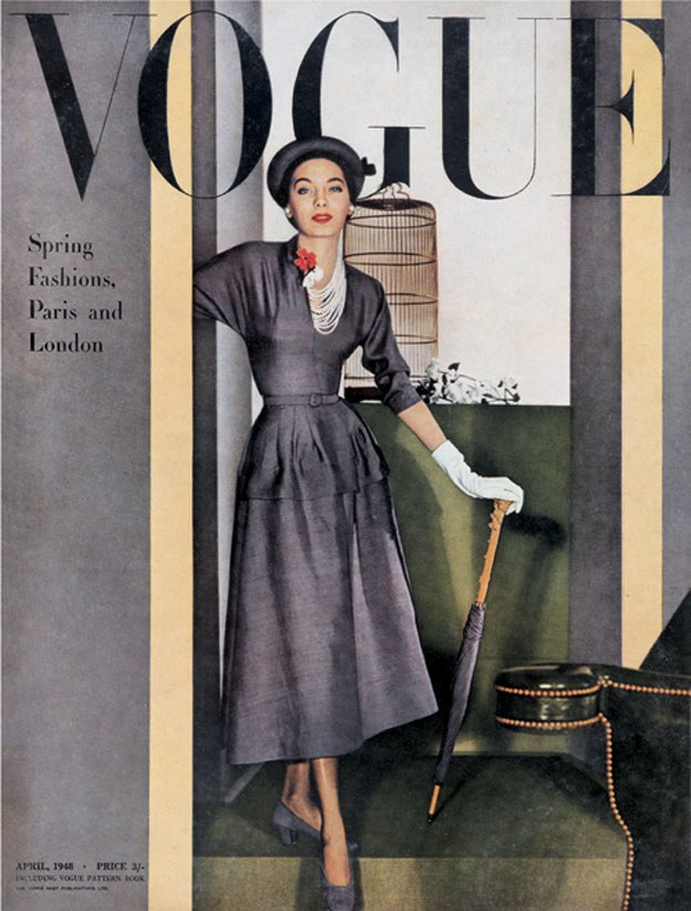 British Vogue Cover April 1948