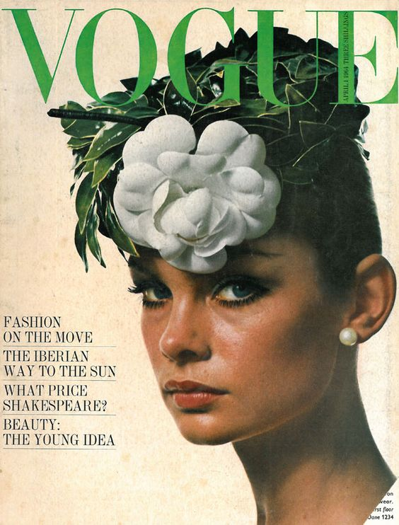 British Vogue Cover April 1964