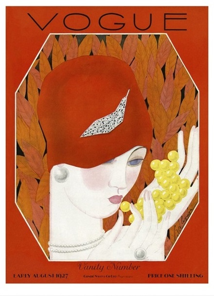 British Vogue Cover August 1927