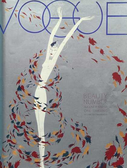 British Vogue Cover August 1932