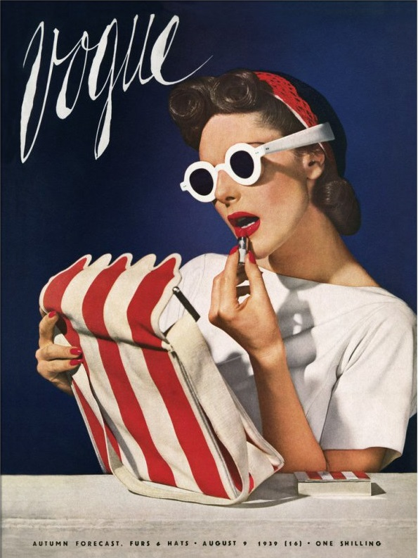 British Vogue Cover August 1939