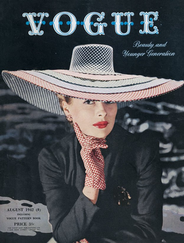British Vogue Cover August 1942
