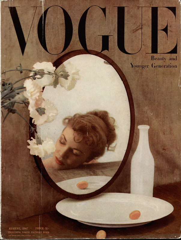British Vogue Cover August 1947