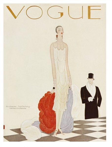 British Vogue Cover December 1925