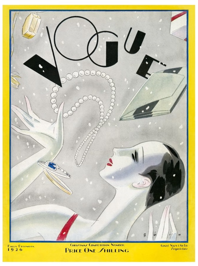British Vogue Cover December 1926