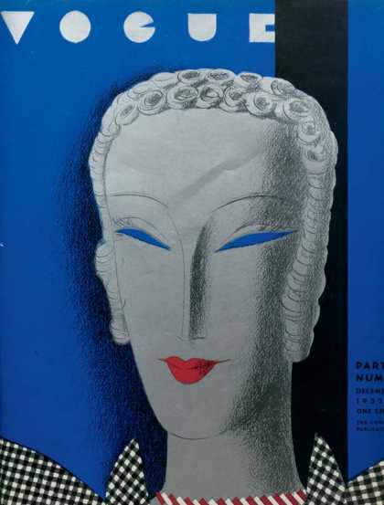 British Vogue Cover December 1932