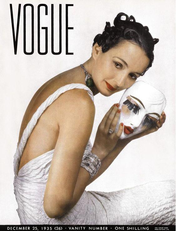 British Vogue Cover December 1935