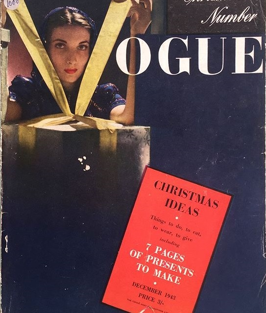 British Vogue Cover December 1943