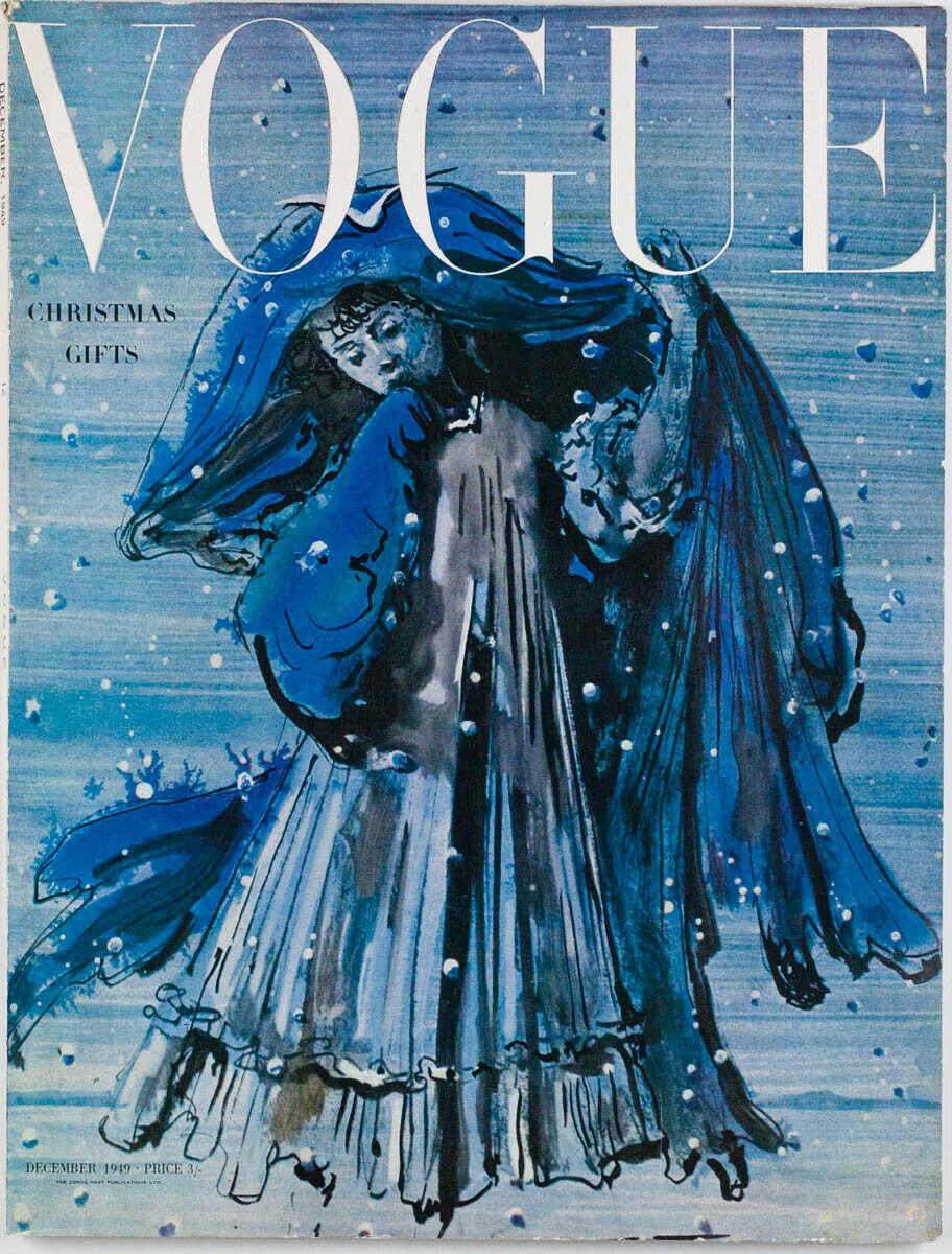 British Vogue Cover December 1949