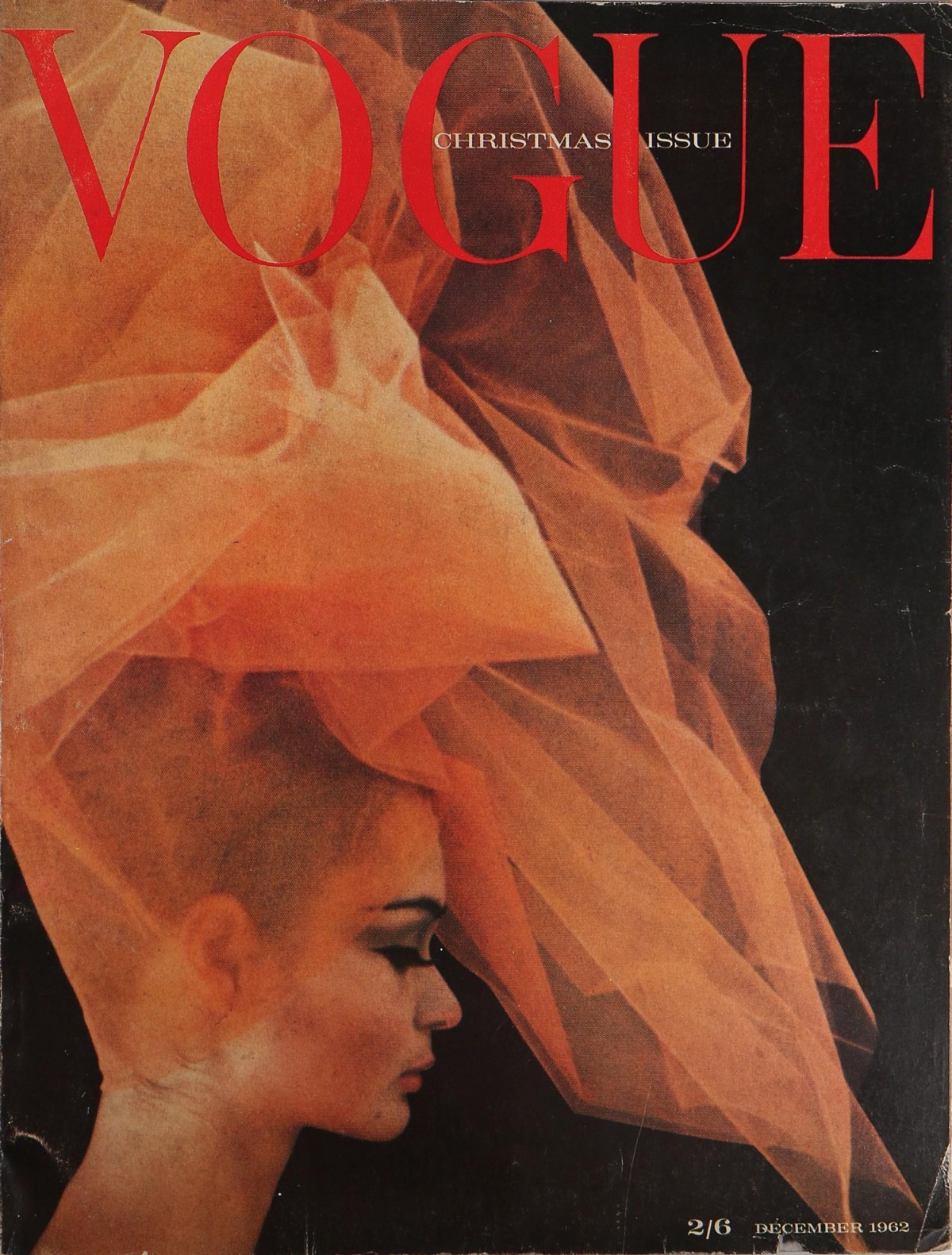 British Vogue Cover December 1962