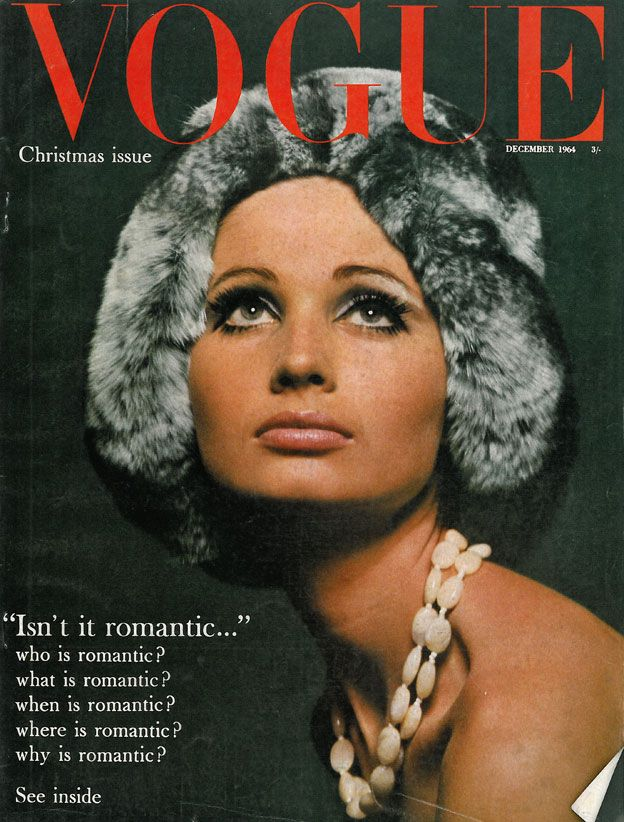 British Vogue Cover December 1964