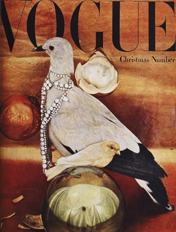 British Vogue Cover December 1946