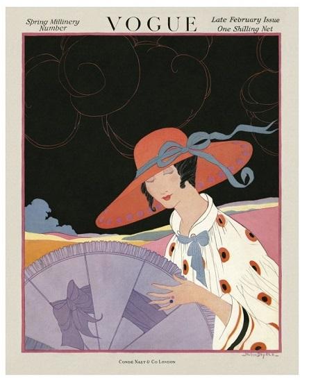British Vogue Cover February 1917