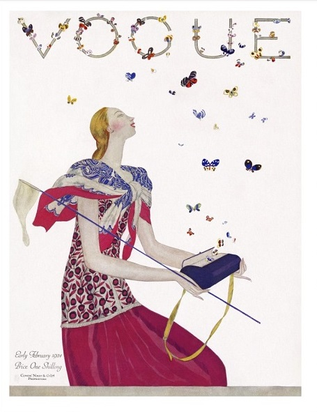 British Vogue Cover February 1924