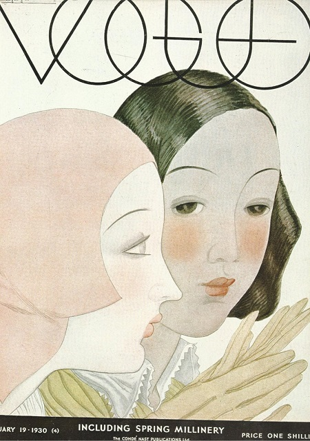 British Vogue Cover February 1930