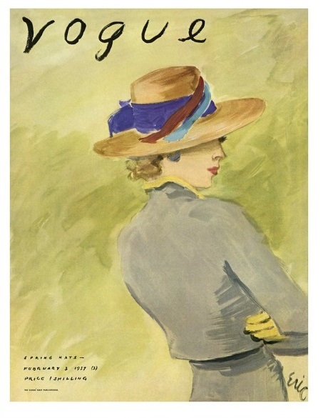 British Vogue Cover February 1931