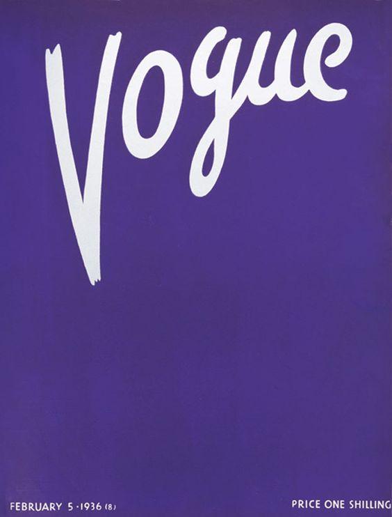 British Vogue Cover February 1936