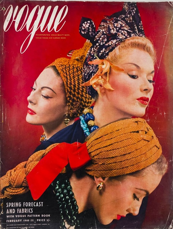 British Vogue Cover February 1940
