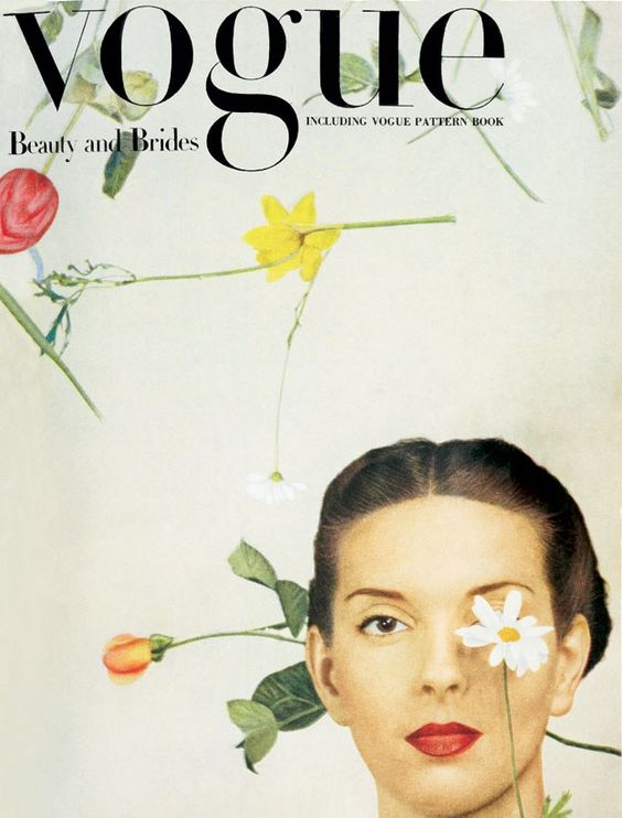British Vogue Cover February 1945