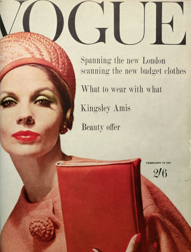 British Vogue Cover February 1961