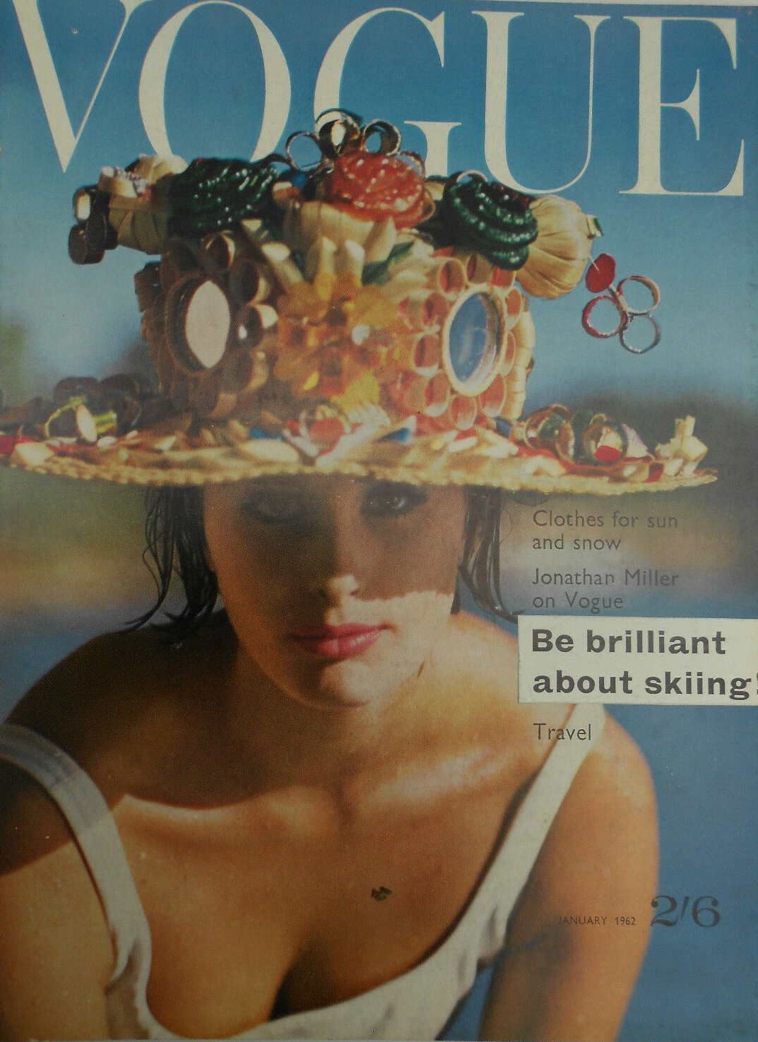 British Vogue Cover January 1962