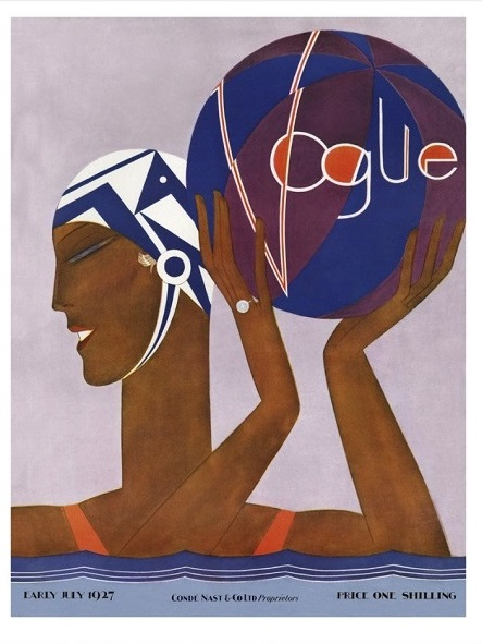 British Vogue Cover July 1927