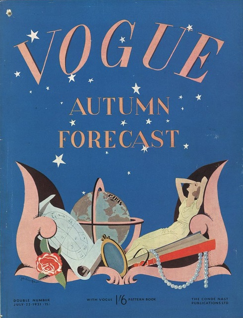 British Vogue Cover July 1931