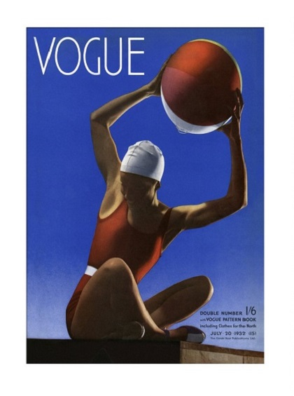British Vogue Cover July 1932