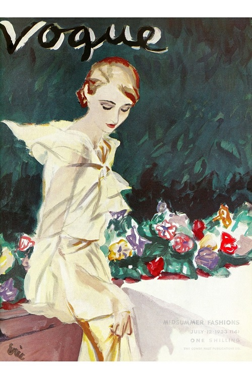 British Vogue Cover July 1933