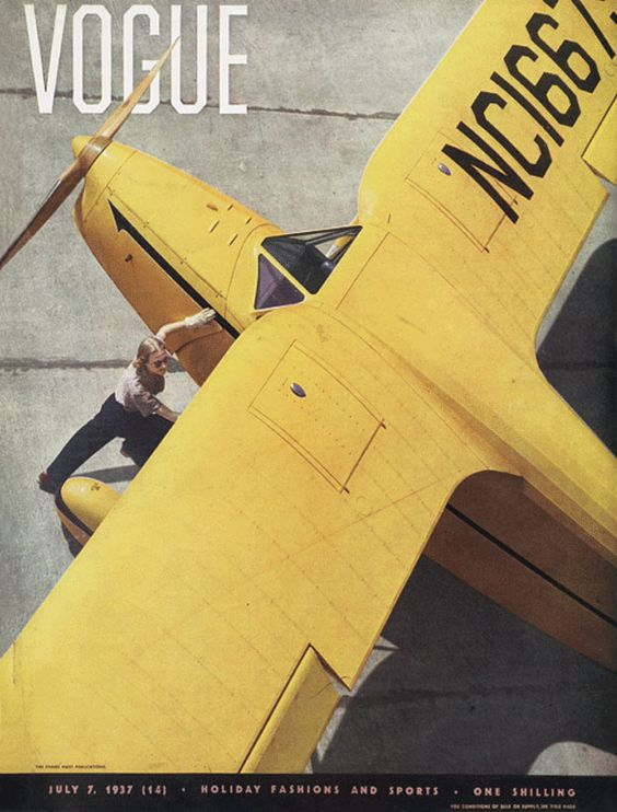 British Vogue Cover July 1937