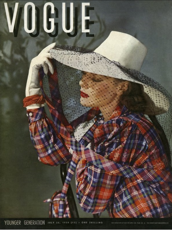 British Vogue Cover July 1939